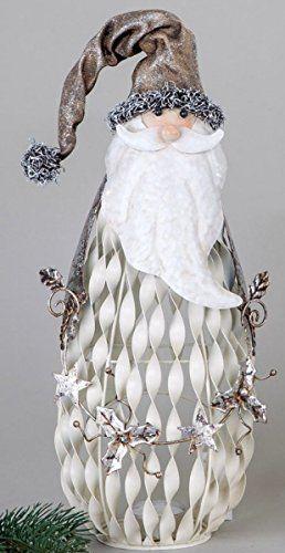 Formano Lantern Nikolaus Cream 34 cm -- Click image to review more details.