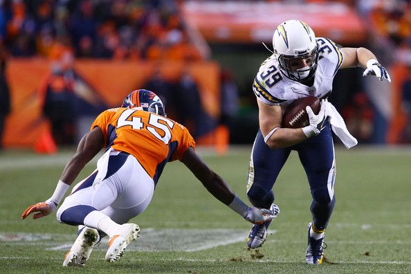 Danny Woodhead Photos - Divisional Playoffs - San Diego Chargers v Denver Broncos - Zimbio
