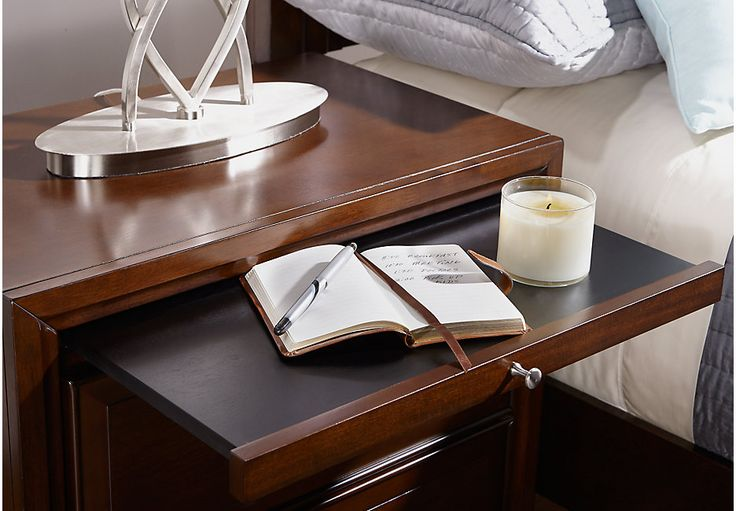 Belcourt Cherry Nightstand from  Furniture