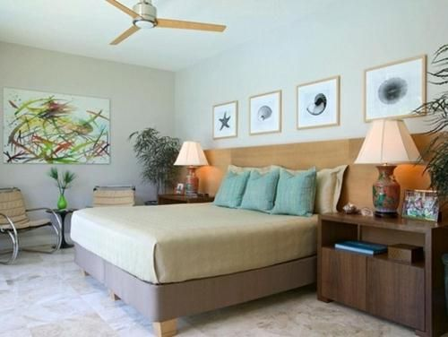 coastal master bedroom design
