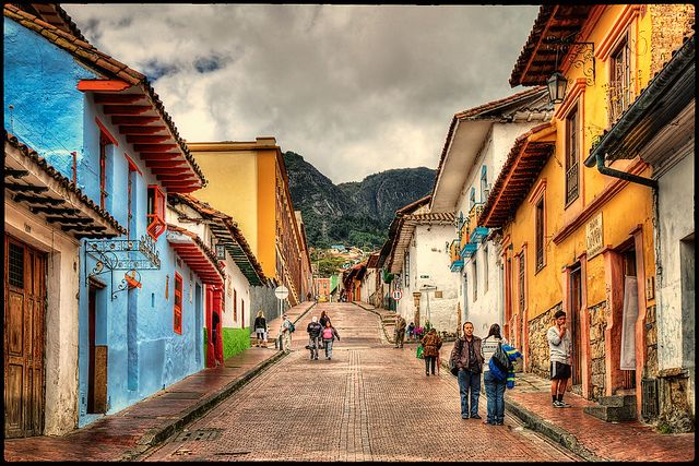 La Candelaria, Bogota by szeke Flickr