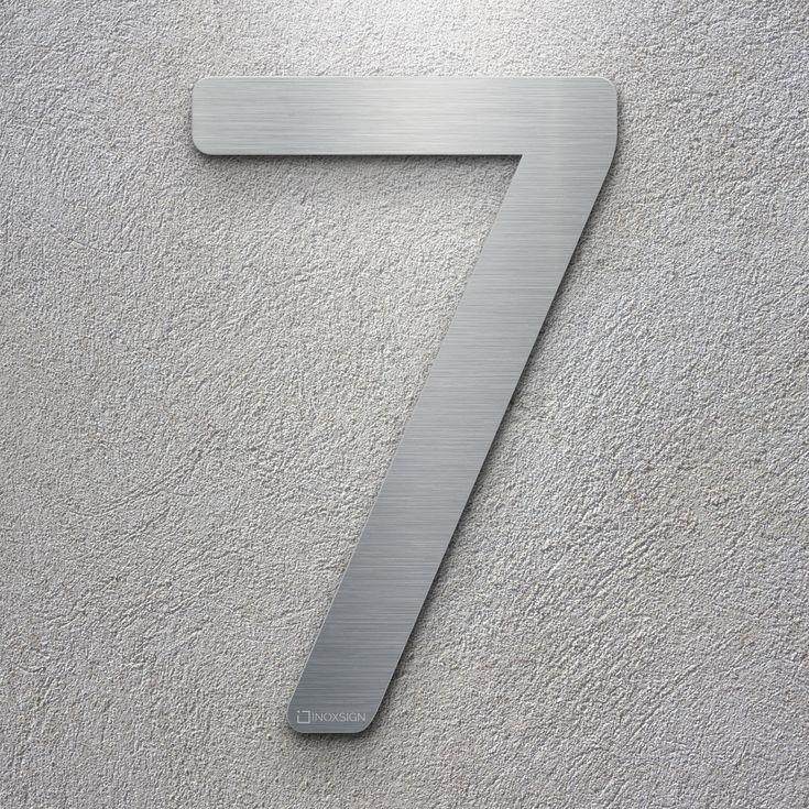 22 best inoxsign hausnummern edelstahl design hausnummer hausnummernschild modern und. Black Bedroom Furniture Sets. Home Design Ideas