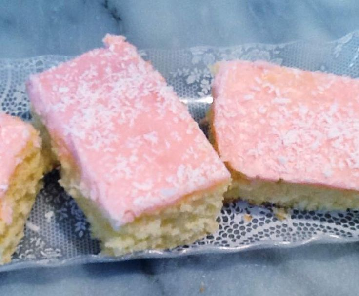 Recipe Iced coconut slice by monicaih - Recipe of category Baking - sweet