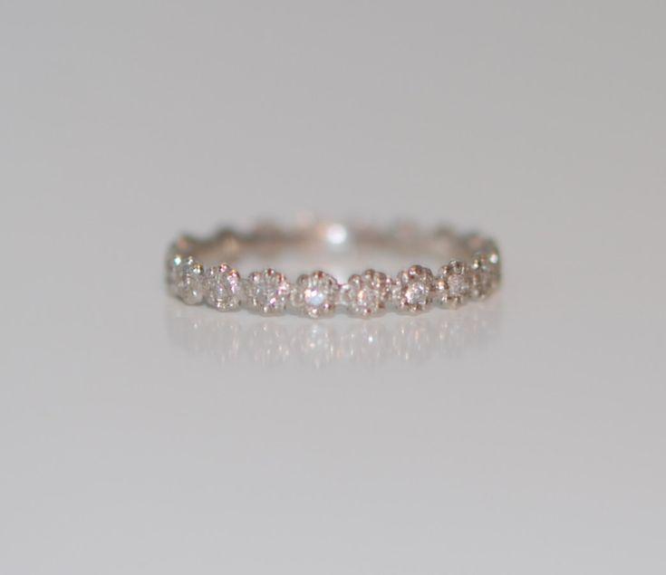 1mm Diamant Ehering entspricht jeder von EidelPrecious auf Etsy