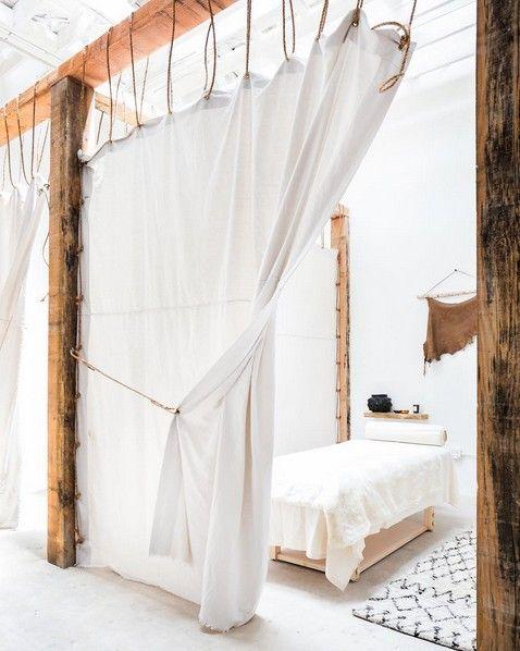 ambiance pur e et ethnique dans ce spa boho chic los. Black Bedroom Furniture Sets. Home Design Ideas