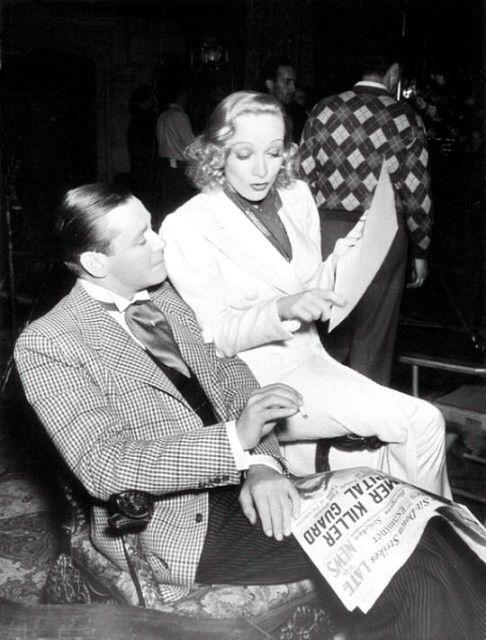 Herbert Marshall Y La Srta Dietrich Marlene Dietrich Cine Clasico Rita Hayworth