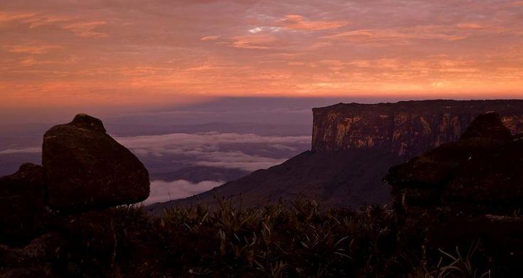 Mount Roraima At Sunset Photograph