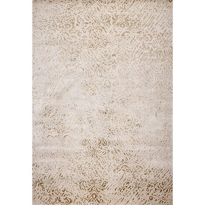 Узорчитый ковер платинового цвета Jamuna Platine #carpet #rug