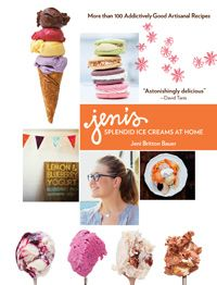 Jeni's Splendid Ice Creams from Columbus, Ohio: Jeni's is known for its unique, seasonal flavors—Bangkok Peanut, Wildberry Lavender, Beet Cake with Black Walnuts—but it used to be that the only ways for a fan to enjoy it were either to make a pilgrimage or to order online. Thankfully, Bauer generously shares her trade secrets, giving you a professional's know-how to make some world-class ice cream in the comforts of your own home.