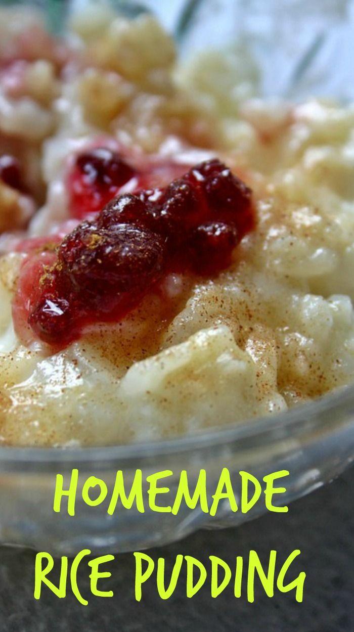 Homemade Rice Pudding. Make it like Grandma use to make it.