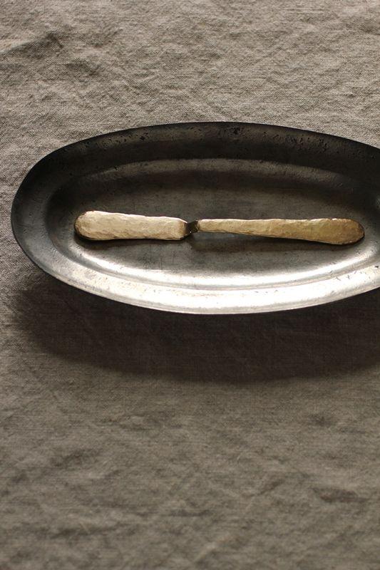 Brass Butter Spreader #1 - IRRE