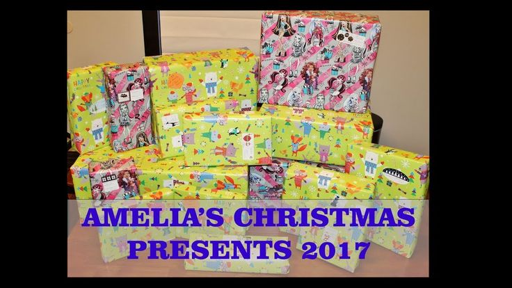 Amelia's (2 Year Old) Christmas Presents 2017