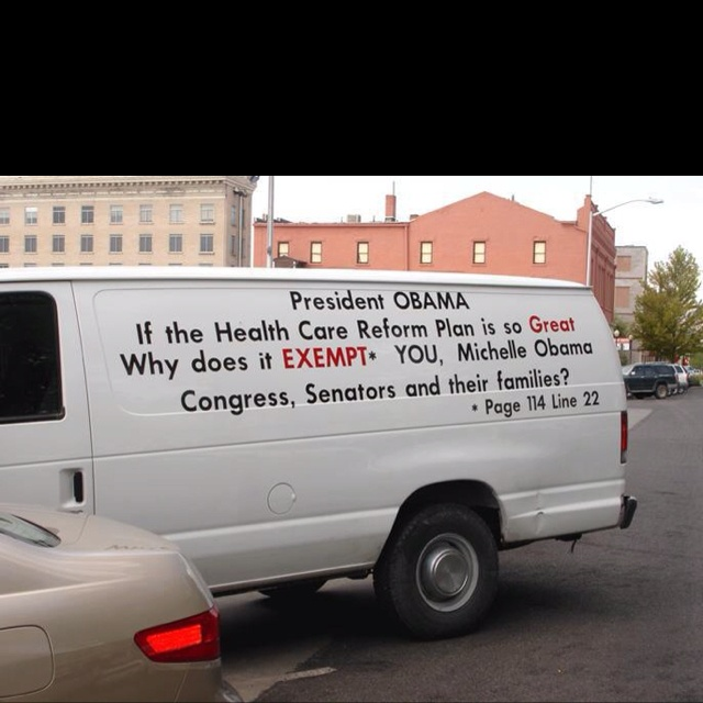 Obamacare isn't good enough for HIS family?!  Then why am I going to be FORCED to buy it?!: Quotes, Food For Thoughts, America, Health Care, Moving Vans, Truths, God Blessed, White House, Healthcare