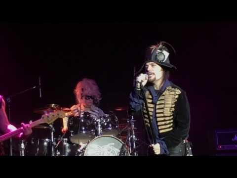Adam Ant - Antmusic live at The Fillmore SF 7 Feb 2017 - YouTube