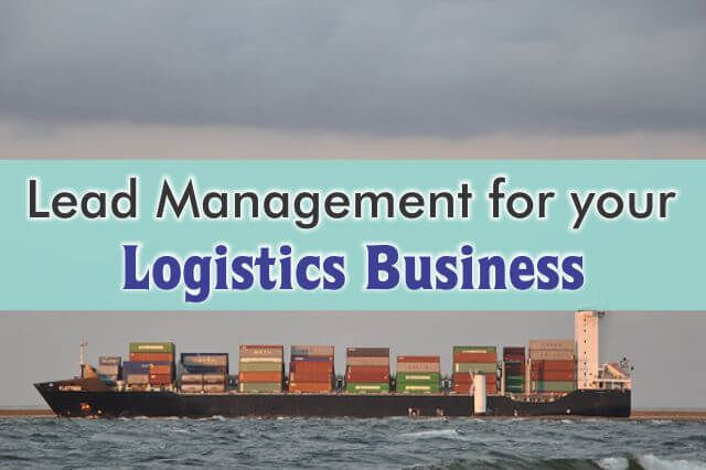 Have problems following-up & converting leads? A Logistics CRM can help you! http://blog.dquip.com/crm-for-lead-management-in-logistics-business/  #Logistics #Problems #Answers #CRM #Software #Sales