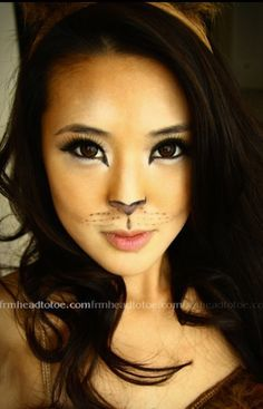 kangaroo face makeup - Google Search