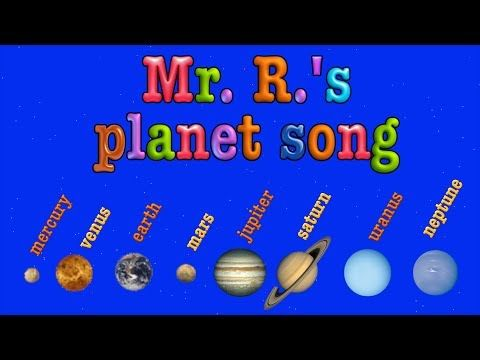 ▶ Planet Song- teach the order of the planets! - YouTube