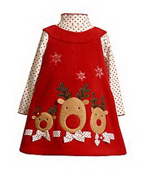 christmas dresses for toddler girls | Bonnie-baby-Christmas-dresses-for-baby-girls-10.jpg