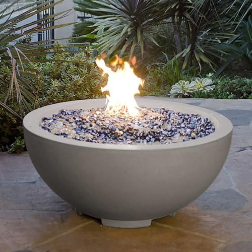 fire pit replacement bowl round designs inch natural gas smoke concrete mold diy