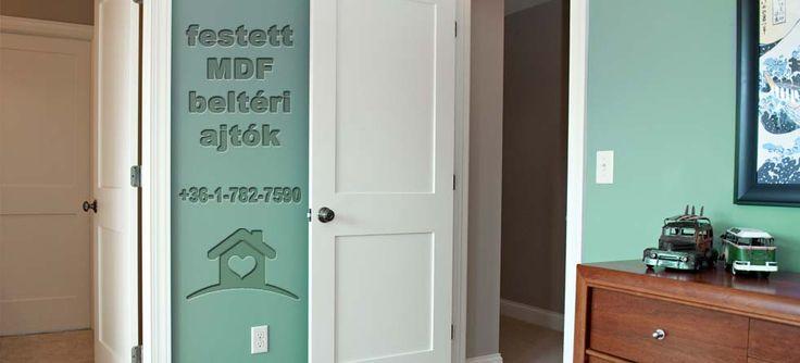 Festett MDF ajtók