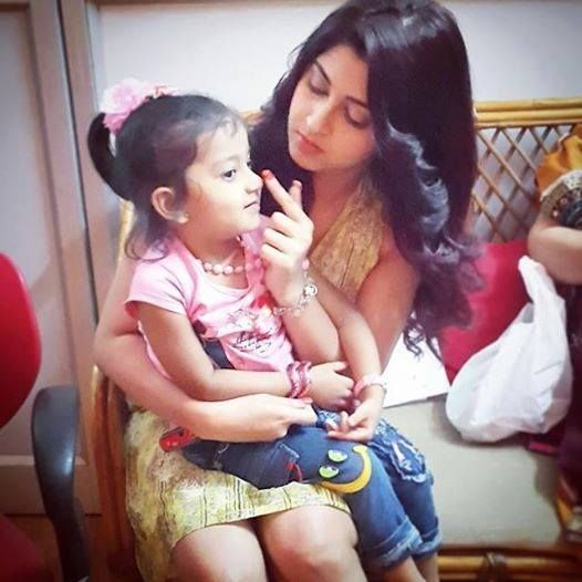 Sonarika Bhadoria With Cute her Niece