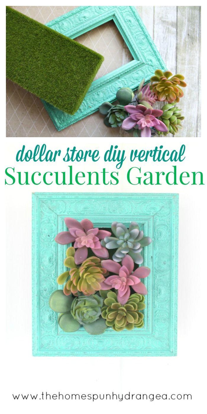 #succulents #vertical #supplies #garden #dollar #b…