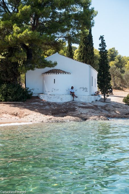 Chapel in Spetses, Greece