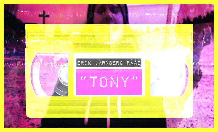 "Music Video-artwork for Erik Järnberg Rååd's ""Tony""."
