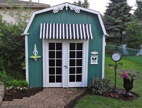 my backyard shed gets a much needed makeover - Garden Sheds With A Difference