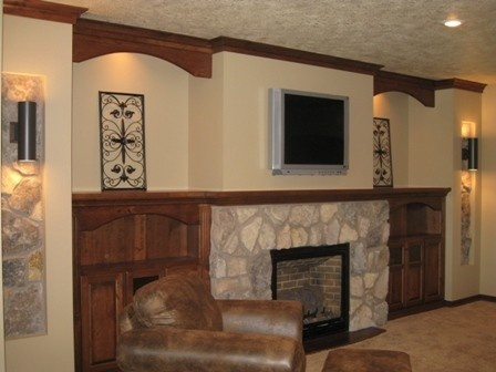 Prairie heritage design prairie heritage fireplace for Prairie style fireplace