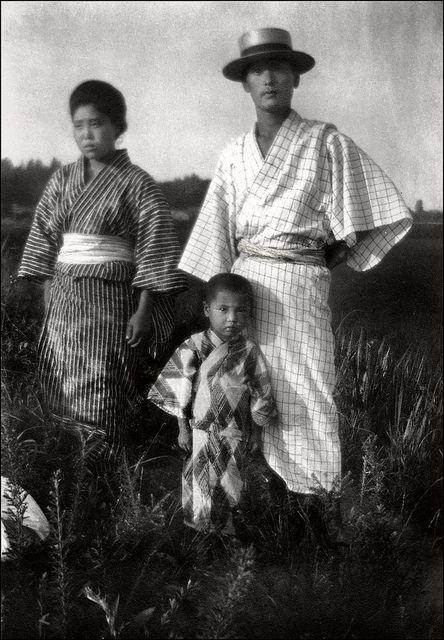 Japanese Family 1920s