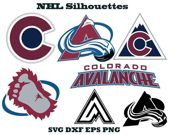 Colorado Avalanche Logo Avalanche Silhouette Sports Silhouette Hockey Silhouette Avala Colorado Avalanche Logo Colorado Avalanche Hockey Colorado Avalanche