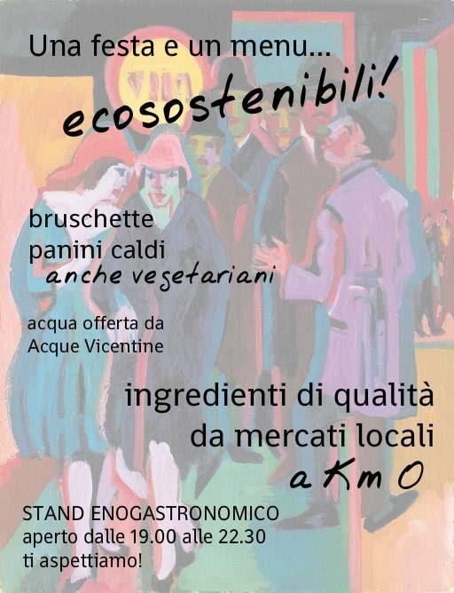 """Particolare attenzione al BUON CIBO alla #festaSanGiuseppe Vicenza. Stasera ci superiamo perché il menù è fatto con incredibili alimenti a """"km 0"""". Ti aspetto! Vieni con tanta voglia di divertirti e passare una bella serata all'insegna di musica, buon cibo ed ecosostenibilità. http://b.me/7Og4gPjyA"""
