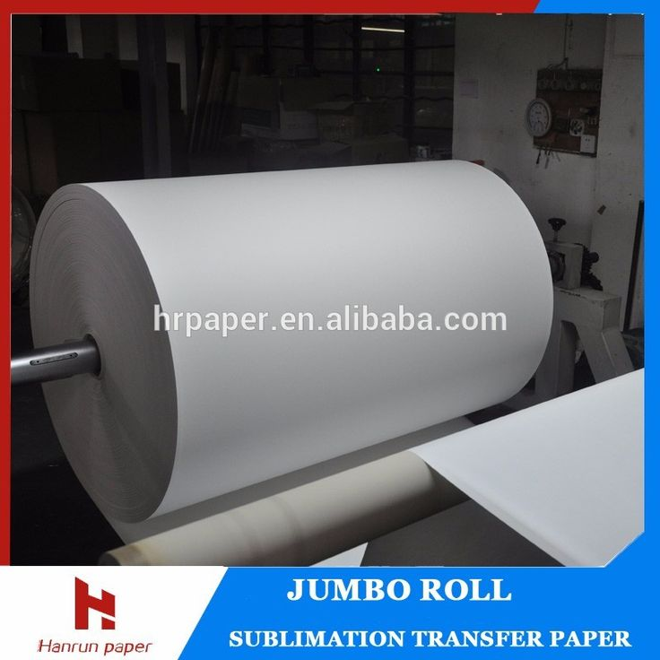 High Speed printing , Anti-curl, 70g 90g sublimation paper roll size 1620mm (64'') sublimation transfer paper for sublimation