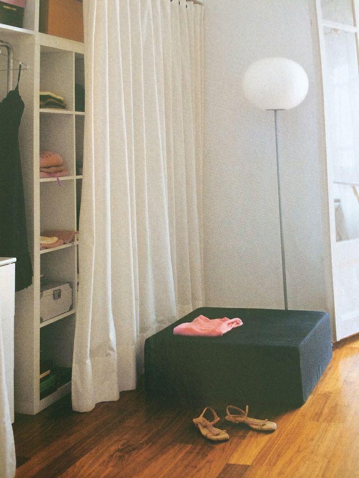 Mejores 31 im genes de armarios con cortinas en pinterest for Cortinas para armarios empotrados