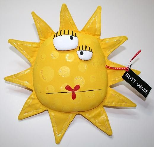 Sun  named Maxine by buttuglee on Etsy