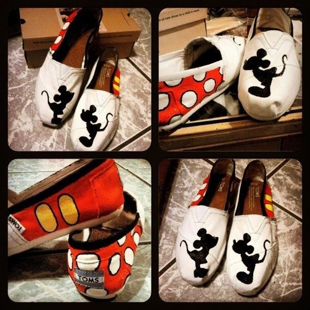 Cute disney toms!!!!!im gonna do this