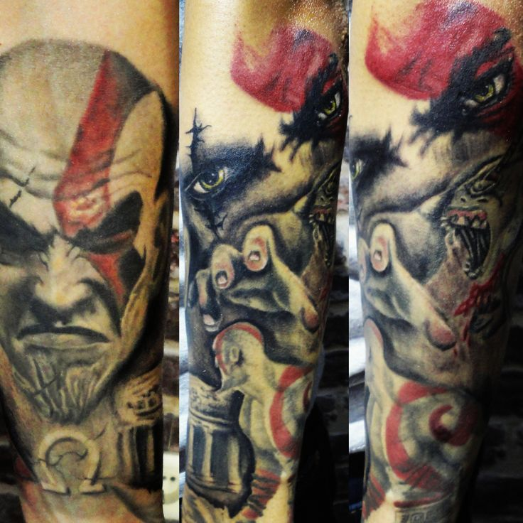 17 best ideas about realistic tattoo sleeve on pinterest for Kratos tattoo design