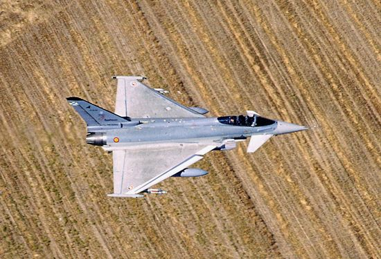 Vuelo de Eurofighter Typhoon (C-16 Typhoon)