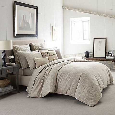 Create a serene ambiance in your bedroom with the ED Ellen DeGeneres Mosaic Tile Comforter Set. Reminiscent of Ellen's cool and casual style, the inviting bedding boasts a well-curated selection of patterns and textures in neutral linen tones.
