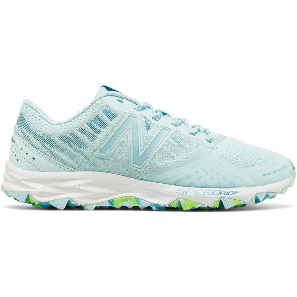 New Balance 690v2 Trail Women's Trail Running Shoes ($70) ❤ liked on Polyvore featuring shoes, athletic shoes, new balance footwear, grip shoes, cushioned shoes, new balance athletic shoes and traction shoes