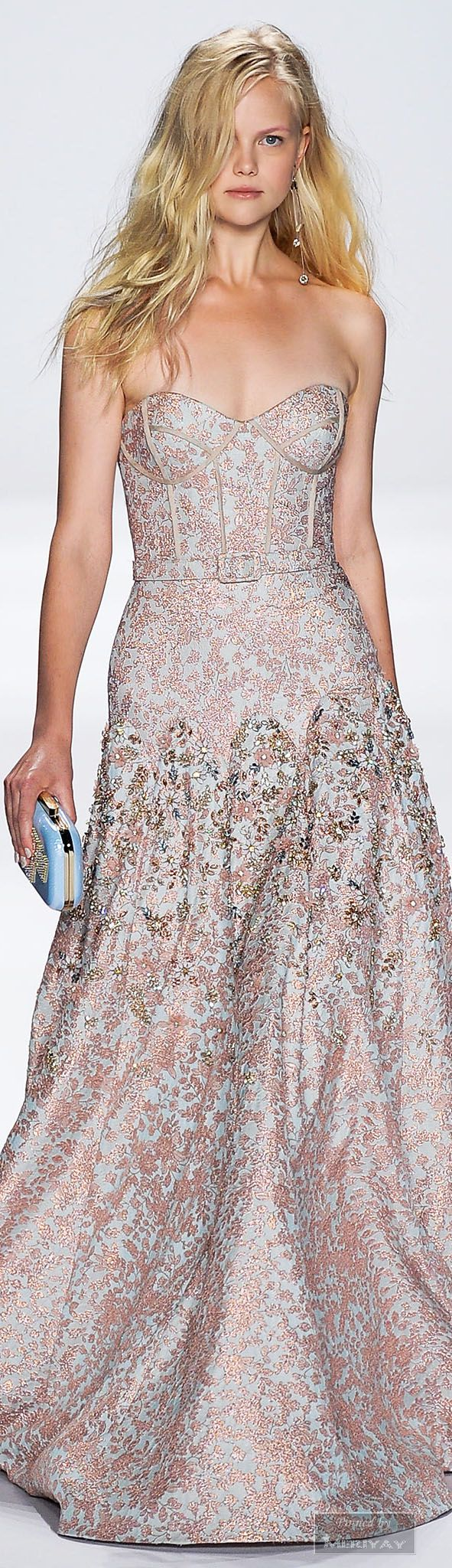 Badgley Mischka.Spring 2015.