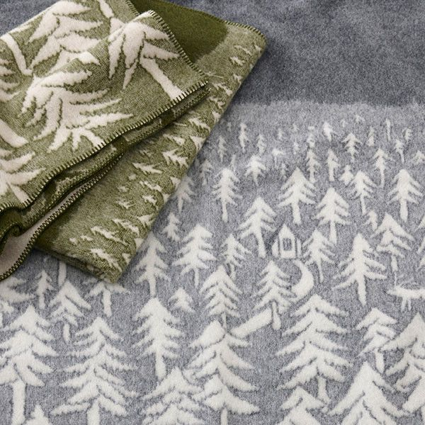 House in the Forest Blanket