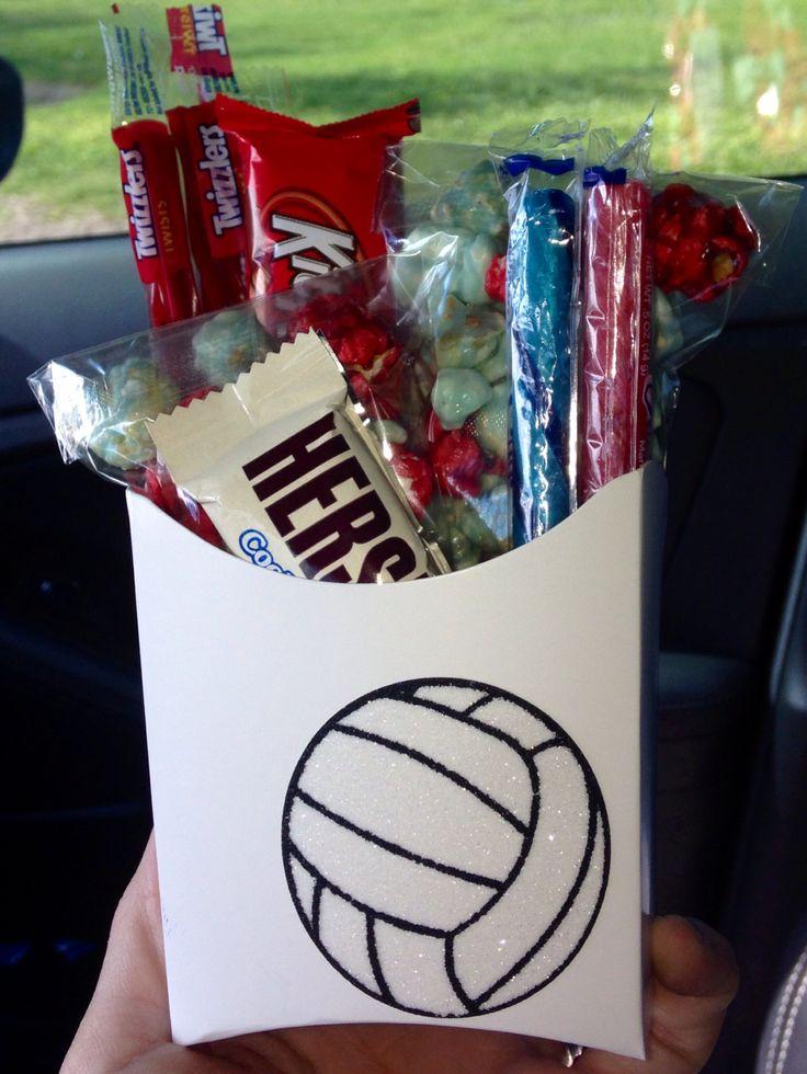Volleyball team treats