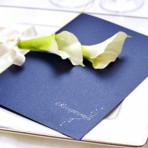 深い輝き「ナイトブルー」席次表手作りセット  http://www.farbeco.jp/shopdetail/000000014406/