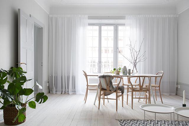 Scandinavian style interiors, scandinavian living, soggiorno stile scandinavo, pastel interior scanmdinavian, scandinavian home decor, wisbone chair wood