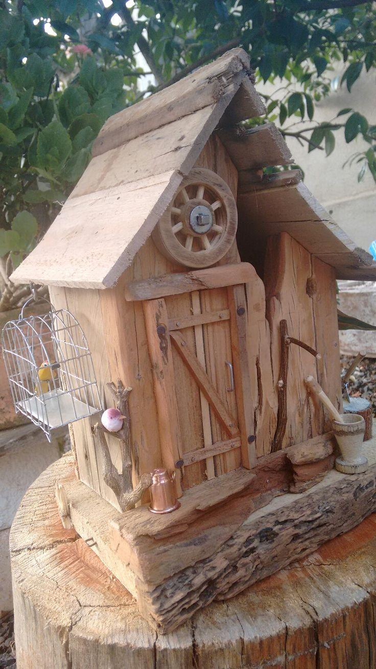 Rustic Birdhouses 3128 Best Rustic Birdhouses Images On Pinterest