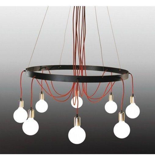 Ophelia Steel Pendant Light