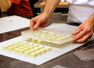 Molding Chocolate; How to make molded chocolate candy