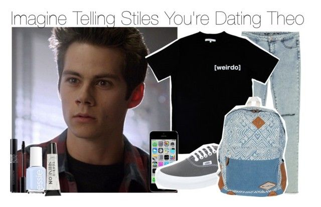 """""""Imagine Telling Stiles You're Dating Theo"""" by fandomimagineshere ❤ liked on Polyvore featuring Zara, Illustrated People, Vans, Billabong, Essie and Torrid"""